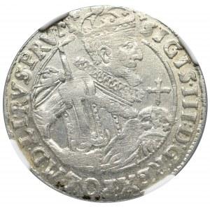 Zygmunt III Waza, Ort 1623, Bydgoszcz - PRV M NGC MS63