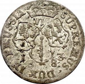 Niemcy, Prusy, Fryderyk Wilhelm, Szóstak 1683 Królewiec