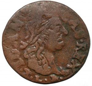Jan II Kazimierz, Szeląg litewski 1666, Brześć