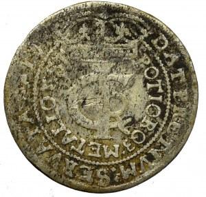 Jan II Kazimierz, Tymf 1665, Kraków - rzadkość gwiazdki przy koronie