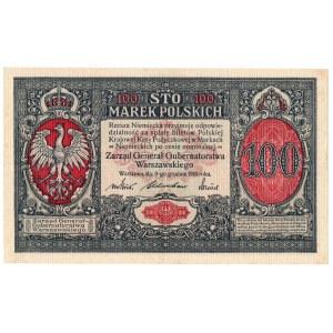 Generalne Gubernatorstwo, 100 marek polskich 1916, Generał