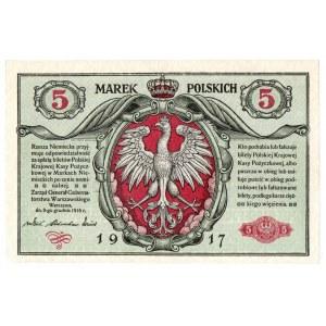 Generalne Gubernatorstwo , 5 marek polskich 1916 - Generał