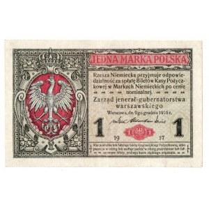 Generalne Gubernatorstwo, 1 marka polska 1916 B Jenerał
