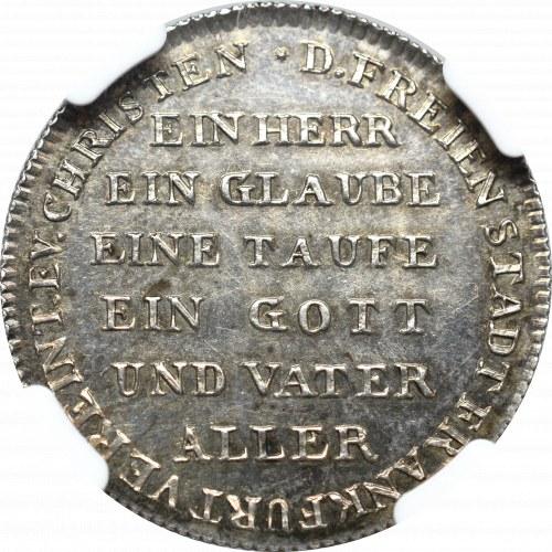 Niemcy, Frankfurt, 2 dukaty 1817 - 300 lat Reformacji