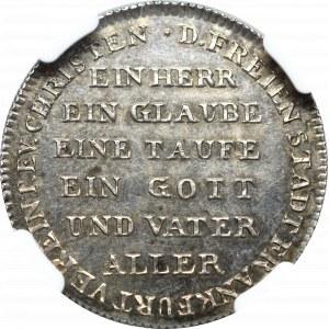 Germany, Frankfurt, 2 ducats 1817 - 300 years of Reformation