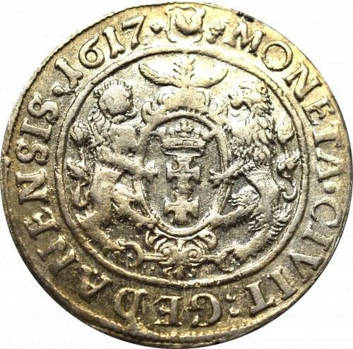 Zygmunt III Waza, Ort 1617, Gdańsk - PRVS :+
