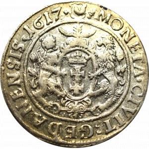 Sigismund III, 18 groschen 1617, Danzig