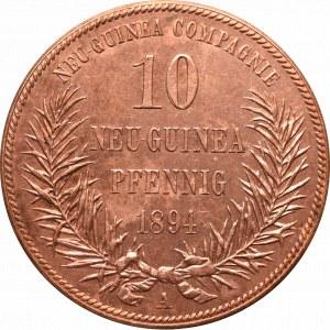 Niemcy, Nowa Gwinea, 10 fenigów 1894 A, Berlin