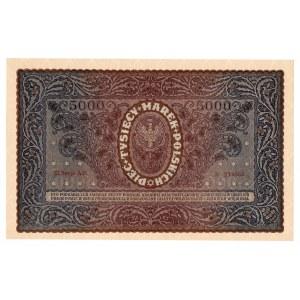 II RP, 5000 marek polskich 1920 III Serja AO