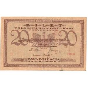 II RP, 20 marek polskich 1919