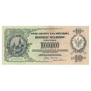 II RP, 10.000.000 marek polskich 1923 N