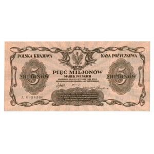 II RP, 5.000.000 marek polskich 1923 A