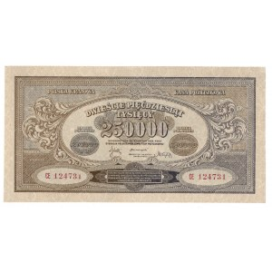 II RP, 250.000 marek polskich 1923 CE