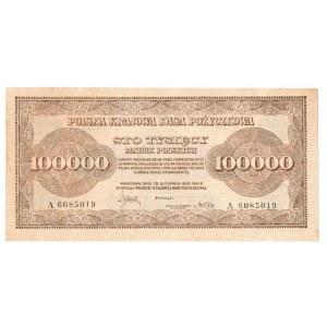 II RP, 100.000 marek polskich 1923 A