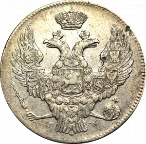 Poland under Russia, Nicholas I, 30 kopecks=2 zloty 1840