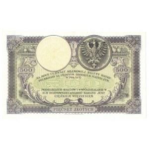 II RP, 500 złotych 28 lutego 1919