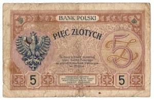 II RP, 5 złotych 28 lutego 1919
