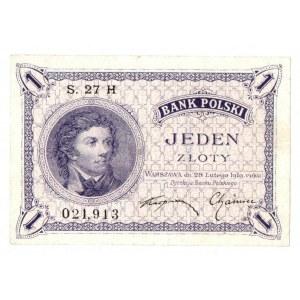 II RP, 1 złoty 28 lutego 1919