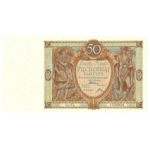 II RP, 50 złotych 1929 1 września 1929 EC