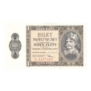 II RP, 1 złoty 1938 1 października 1938 IG