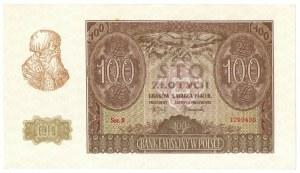 Generalne Gubernatorstwo, 100 złotych 1940 B
