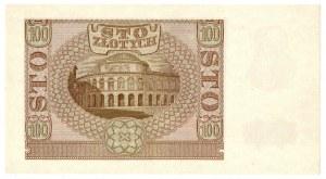 Generalne Gubernatorstwo, 100 złotych 1940 B - FAŁSZERSTWO