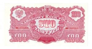 PRL, 100 złotych 1944 , seria MO -