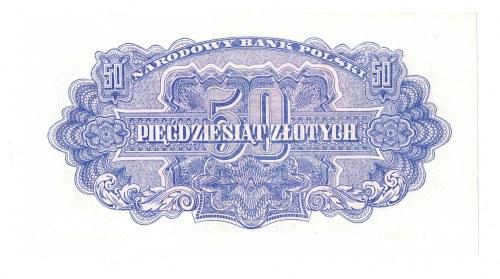 PRL, 50 złotych 1944 , seria Az - ...obowiązkowe...