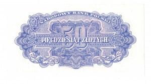 PRL, 50 złotych 1944 , seria Az -