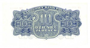 PRL, 10 złotych 1944 , seria EM -