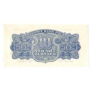 PRL, 10 złotych 1944 , seria Ao - ...obowiązkowe...