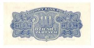 PRL, 10 złotych 1944 , seria Ao -