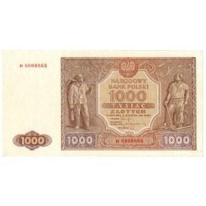 PRL, 1000 złotych 1946 H