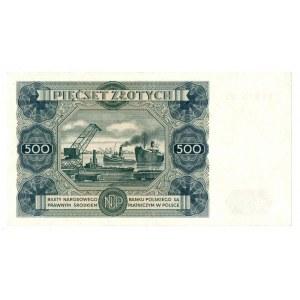 PRL, 500 złotych 1947 Z2