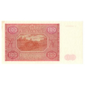 PRL, 100 złotych 1946 L