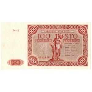 PRL, 100 złotych 1947