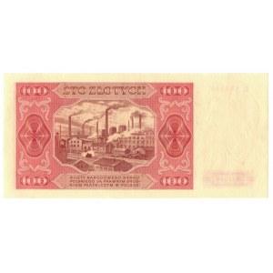 PRL, 100 złotych 1948 G
