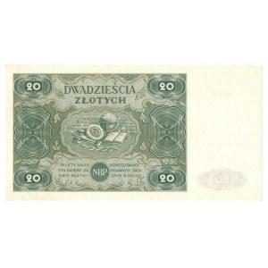 PRL, 20 złotych 1947 C