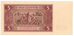PRL, 5 złotych 1948 A