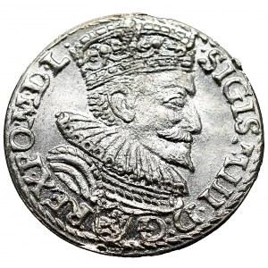 Sigismund III Vasa, 3 groschen 1594, Marienburg - NGC AU58