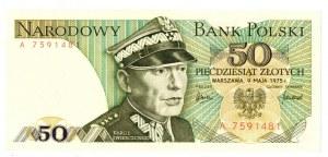 PRL, 50 złotych 1975 A