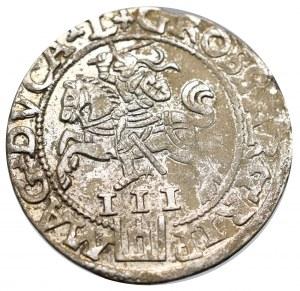 Sigismund II Augustus, 3 groschen 1562, Vilnius - L/LI