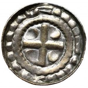Polska, denar krzyżowy X/XI
