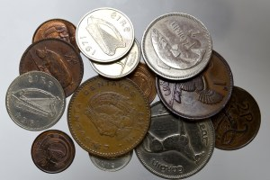 Set of world coins