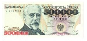 500.000 złotych 1993 G