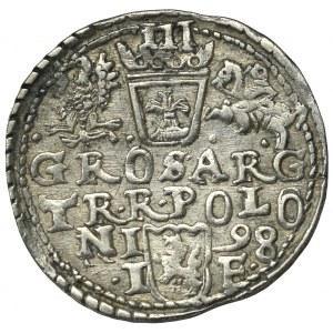 Sigismund III, 3 groschen 1598,