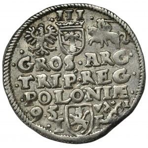 Sigismund III, 3 groschen 1595