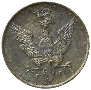 Kingdom of Poland, 20 pfennig 1917 - NGC MS64