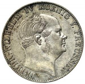 Niemcy, Prusy, Fryderyk Wilhelm IV, talar 1857