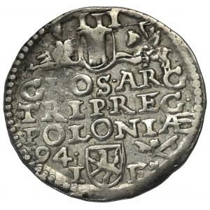 Zygmunt III Waza, Trojak 1594, Wschowa - nieopisany